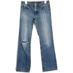 Vintage Lucky Brand Straight Leg Distressed Jeans